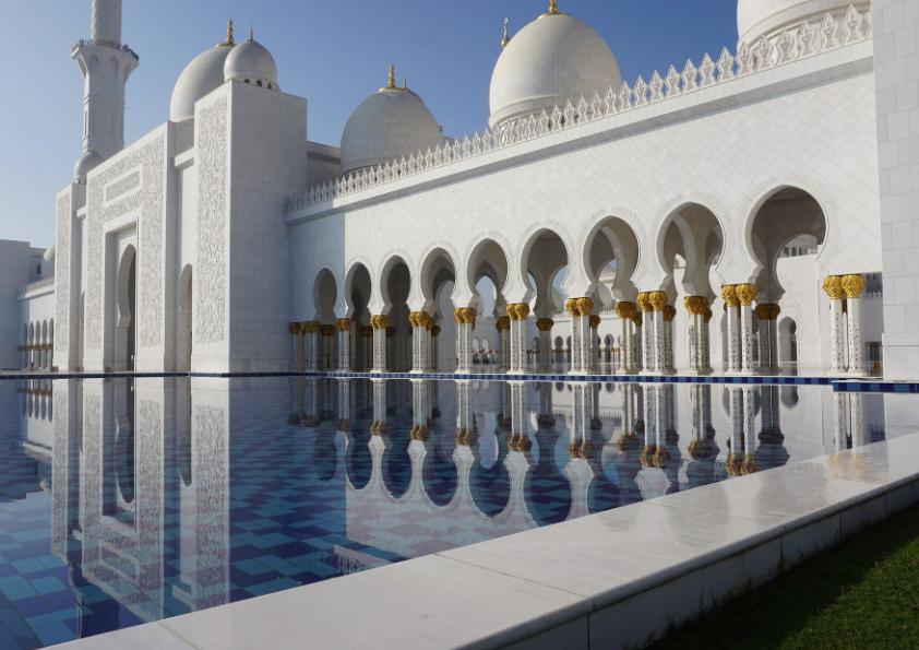 Abu Dhabi Grote Moskee