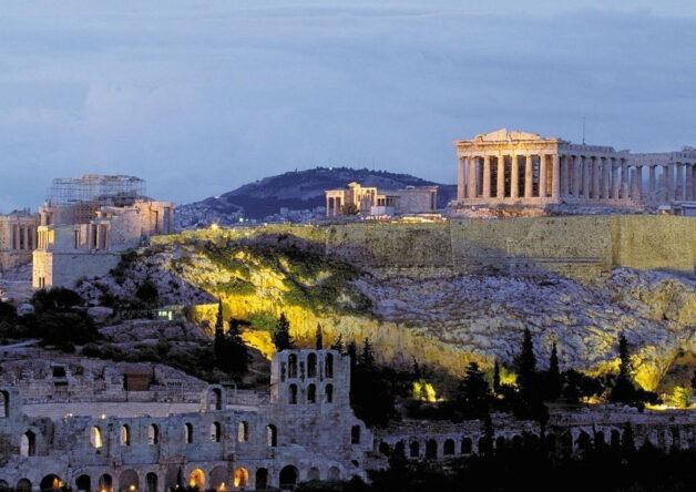 Griekenland Athene Akropolis