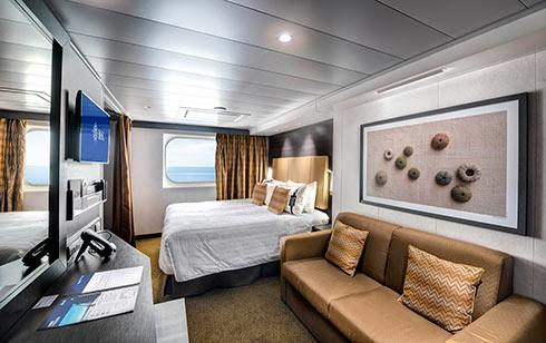 MSC-Cruises-MSC-Grandiosa-MSC-Virtuosa-schip-cruiseschip-categorie O1-O2-O3-buitenhut-beperkt zicht