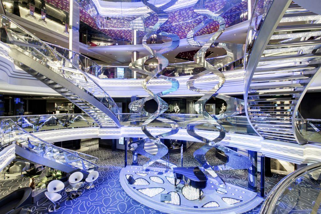 MSC Grandiosa, Infinity Atrium
